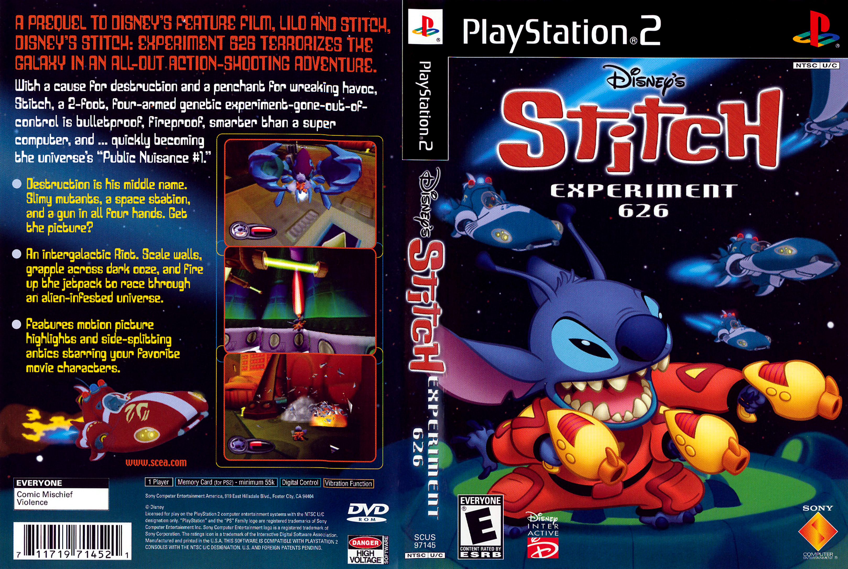 Disney's Stitch: Experiment 626 (2002, PS2)